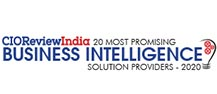 20 Most Promising Business Intelligence Solution Providers - 2020